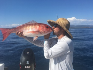 Red snapper kiss